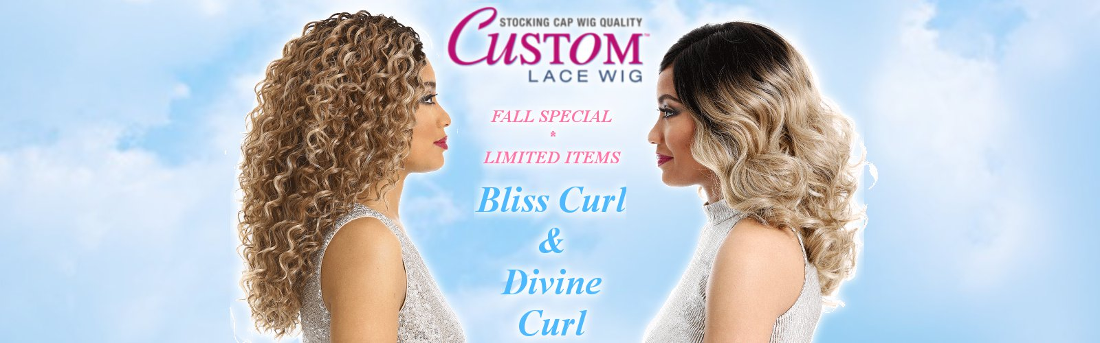 Sensationnel Custom Lace Wig/Bliss Curl, Divine Curl